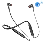 ipipoo GP-3 Bluetooth 4.2 Magnetic Adsorption Stereo Neck-mounted Wired Control Sports Bluetooth Earphone, Support Hands-free Calling (Black)