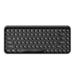Ajazz 308I Tablet Mobile Phone Computer Household Office Wireless Keyboard(Black)
