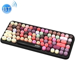 Ajazz 308I 84 Macaroon Keys Tablet Mobile Phone Computer Household Office Bluetooth Keyboard