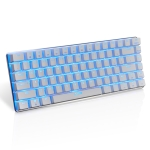 Ajazz AK33 Laptop Computer Gaming Mechanical Keyboard (White Blue Shaft)