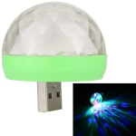 4W RGB Sound Control Mini Magic Ball LED Stage Lamp