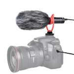 YELANGU MIC015 Professional Interview Condenser Video Shotgun Microphone with 3.5mm Audio Cable for DSLR & DV Camcorder (Black)