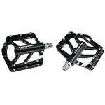 1 Pair TIGER Anti-slip Foot Pedal  Aluminium Shaft Mountain Bike Pedal (Black)