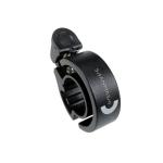 SHANMASHI Aluminum Alloy Bicycle Bell Ring Children Balance Car Bell (Black)