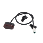 For Xiaomi M365 / M187 Electric Scooter Rear Brake Light Tail Light Connection Fixing Parts (Black)