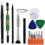 15 in 1 BEST BST-932 Screwdriver Opening Pry Tool Mobile Phone Repair Tool Kit