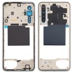 Original Middle Frame Bezel Plate for OPPO Realme X2(White)