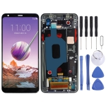 LCD Screen and Digitizer Full Assembly with Frame for LG Stylo 4 / Q Stylo 4 / Q710 / Q710MS / Q710CS(Black)