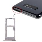 SIM Card Tray + SIM Card Tray / Micro SD Card Tray for Galaxy S10+ / S10 / S10e(Black)