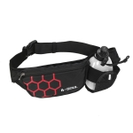 B-Soul Sports Waist Bag Kettle Bag Outdoor Fitness Waterproof Mobile Phone Bag(Red)