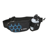 B-Soul Sports Waist Bag Kettle Bag Outdoor Fitness Waterproof Mobile Phone Bag(Blue )