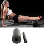2 in 1 EPP Hollow Yoga Column Yoga Foam Shaft Massager Set, Size: 33 x 14cm(Black)