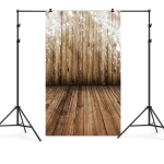 1.5m x 2.1m Wood Grain Wooden Board Children Birthday Party Photography Background Cloth