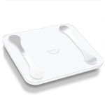 TUY Multifunctional Bluetooth Smart USB Mini Electronic Scale Weight Scale, Style:USB Charging Version(White)