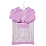 2 PCS Kitchen Anti-fouling Oil-proof Adult Gowns Home Apron, with Long Sleeve(Purple )