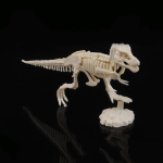 Creative DIY Excavation Archeological Dinosaur Toy Fossil Puzzle Children Handmade Dinosaur Skeleton Model(Tyrannosaurus)