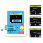 CR-T7 3.5 inch Colorful Display Multi-functional TFT Backlight Transistor Tester for Diode Triode Capacitor Resistor