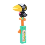 Children Doll Imitate Show Induction Sound Control Recording Toy(Green Toucan)