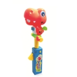 Children Doll Imitate Show Induction Sound Control Recording Toy(Red Dinosaur)