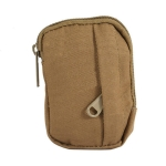 Wear-resistant Nylon Waterproof Outdoor Sports Bag Small Waist Bag(Khaki)