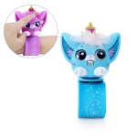 Intelligent Induction Cute Pet Simulation Kitten Electronic Pet Interactive Children Toy Novelty Bracelet(Blue)