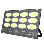 600W LED Waterproof Outdoor Searchlight Floodlight Warehouse Factory Building Flood Light(White Light)