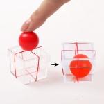 10 PCS Close-up Box Magic Ball Toy Close-up Magic Props