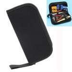 Oxford Cloth Portable Multifunctional Zipper Kit(Black)
