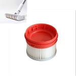 2 PCS Vacuum Cleaner Filter Cleaning Tool for Dreame V9 Wireless Handheld Vacuum Cleaner(White)