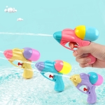 5 PCS Mini Water Gun Toy Kids Outdoor Beach Games Props Portable Water Squirt Gun Toys, Random Color Delivery