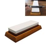 1000/6000 Red White Whetstone Double-sided Bamboo Base Set