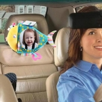 Baby Car Seat Reverse Car Rearview Mirror Pendant Plush Toy, Color:Fish Mirror