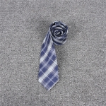 Jacquard Plaid College-style Uniform Bow Tie Necktie Clothing Accessories, Style:Necktie