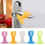 15 PCS Simple Suction Door Handle Rebound Bumper, Random Color Delivery