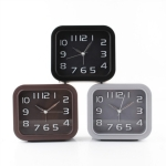 3 PCS Creative Square Children Bedroom Alarm Clock, Random Color Delivery