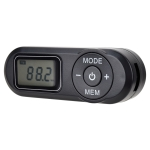 HRD-727 Portable LCD Display DSP FM Radio with Headset (Black)