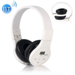 HRD-391 Portable FM Radio Receiver Bluetooth Headset (White)