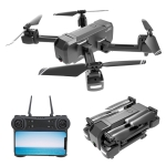 KF607 2.4Ghz Brushless GPS Folding Aerial RC Quadcopter Drone, Optical Flow 4K Flat Angle Coxless Camera
