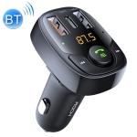 ROCK B301 Dual USB + PD Bluetooth 5.0 FM Transmitter & Car Charger, Support TF Card / U-disk (Black)