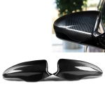2 PCS Car Carbon Fiber Rearview Mirror Shells for 2012-2017 BMW F10 M5, Left and Right Drive Universal