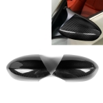 2 PCS Car Carbon Fiber Rearview Mirror Shells for BMW E90 E92 E93 M3, Left and Right Drive Universal