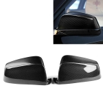2 PCS Car Carbon Fiber Rearview Mirror Shells for BMW 5 Series F07 2010-2013, Left and Right Drive Universal
