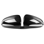 2 PCS Car Carbon Fiber Rearview Mirror Shells for 2015-2019 Mercedes Benz W222 S550 S600 S63, Right Drive