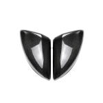 2 PCS Car Carbon Fiber Rearview Mirror Shells for Mercedes-Benz C Class W205 2015-2017 / GLC X253 2016-2017, Left Drive