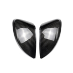 2 PCS Car Carbon Fiber Rearview Mirror Shells for 2013- Audi A3, Left and Right Drive Universal