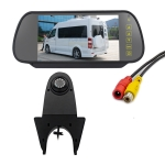 PZ506 Car Waterproof Reversing View Camera + 7 inch Rearview Monitor for Mercedes Benz