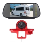 PZ464 Car Waterproof Brake Light View Camera + 7 inch Rearview Monitor for Renault / Vauxhall