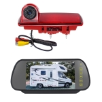 PZ463 Car Waterproof 170 Degree View Camera + 7 inch Rearview Monitor for Renault / Opel