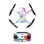 STARTRC Color Pattern Waterproof PVC Stickers Drone & Controller & Battery Stickers for DJI Mavic Mini (Ink cloud)