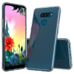 For LG K50S Scratchproof TPU + Acrylic Protective Case(Transparent)